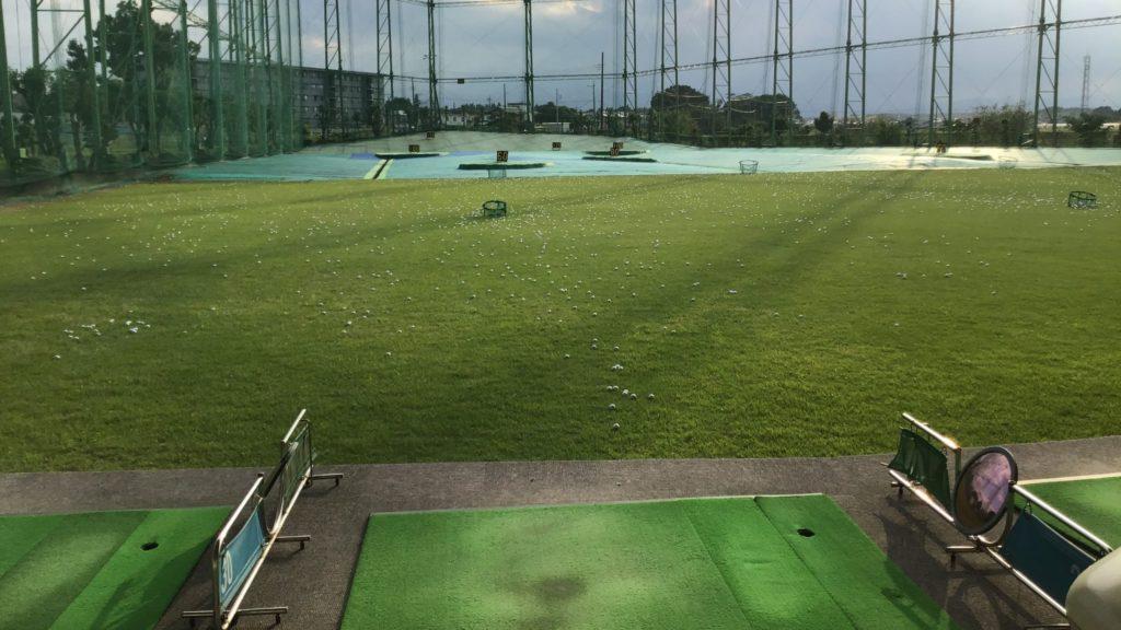 川越市 霞ゴルフプラザの打席
