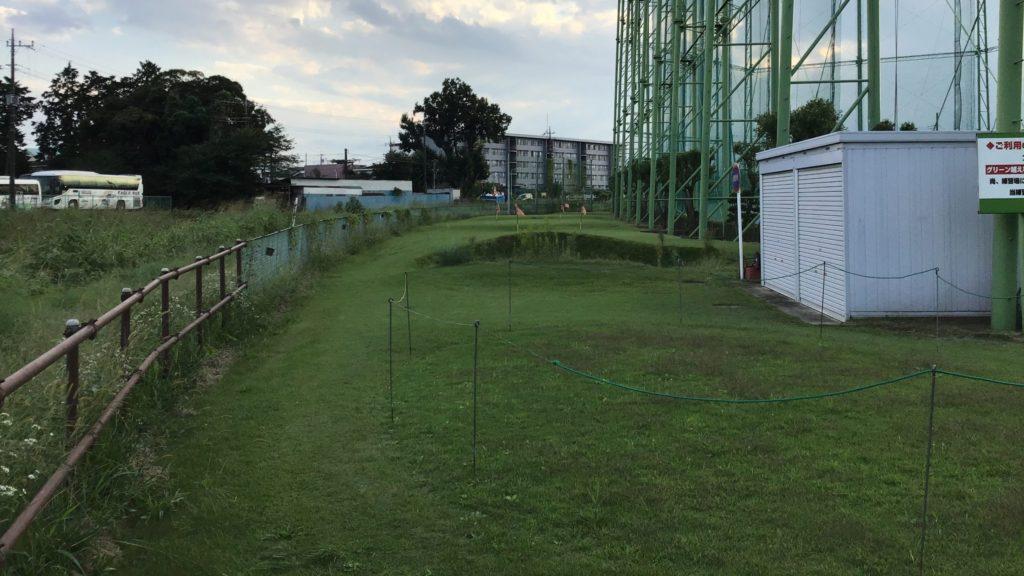 川越市 霞ゴルフプラザのアプローチ練習場
