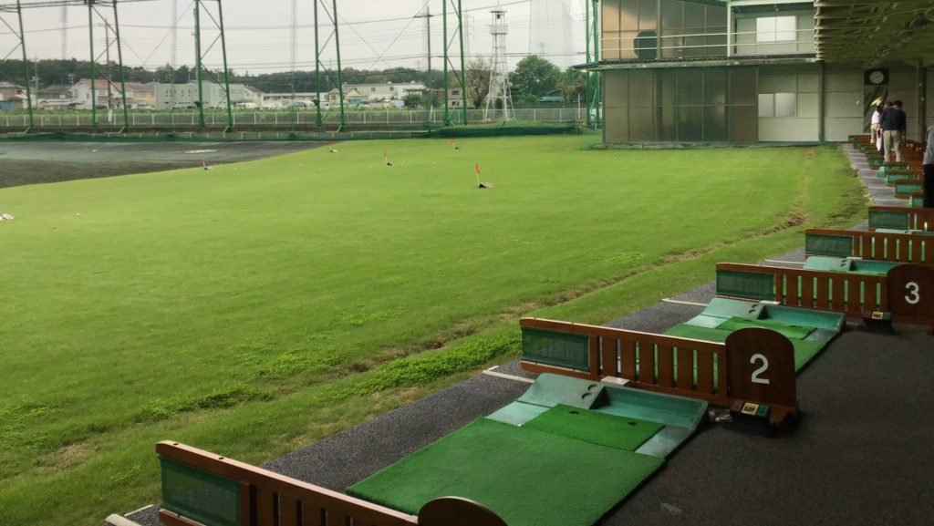 川越ゴルフガーデン 打席