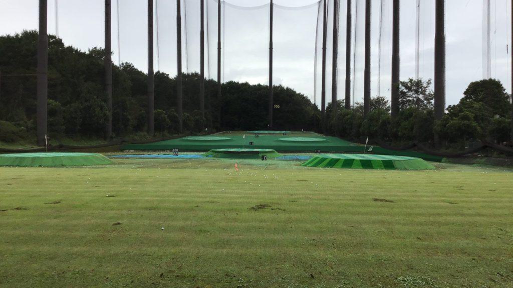 川越市 トミーゴルフプラザ打球面