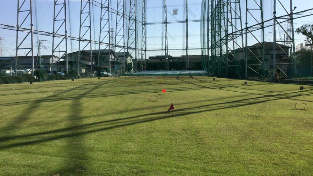 東松山ゴルフセンター打球面