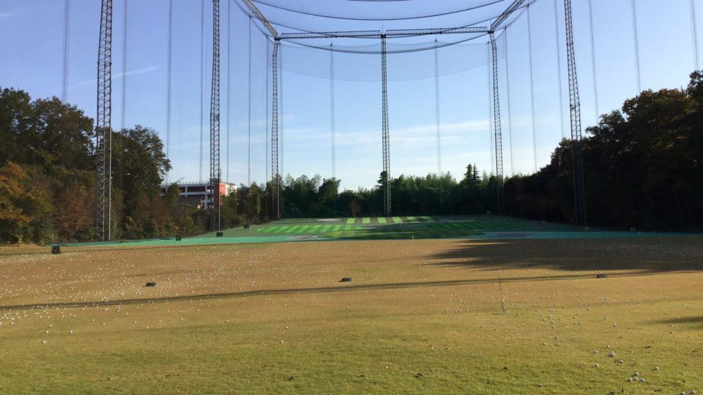 クリスタルゴルフガーデン東松山 打球面