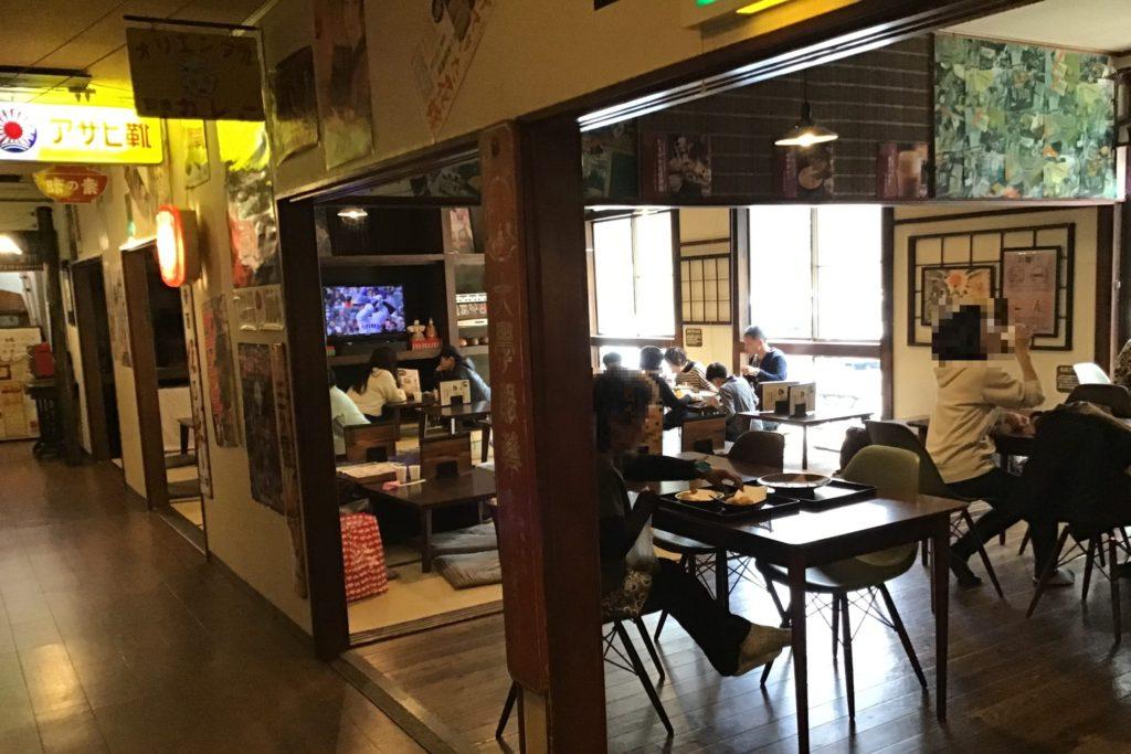 埼玉 玉川温泉 食堂