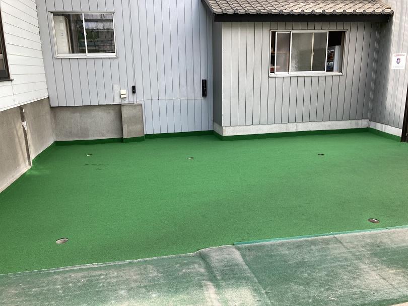 埼玉県所沢市 新富ゴルフプラザ パッティンググリーン(無料)